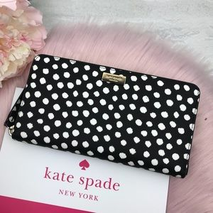 💖 Kate Spade Laurel way printed musicaldot Wallet